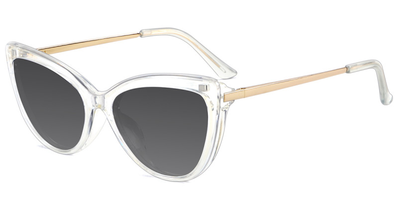 Cateye Clear  Magnetic Snap-On Frame