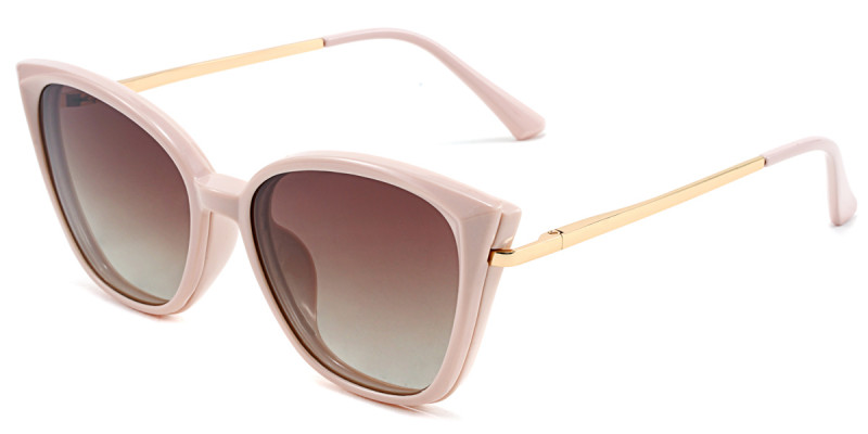 Cateye Pink Magnetic Snap-On Frame