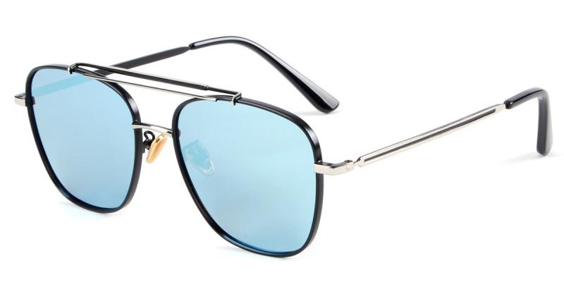 Aviator Silver Sunglasses
