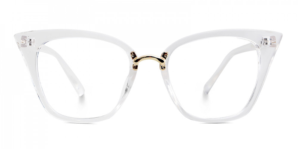 Achelous Cat Eye Clear Frame