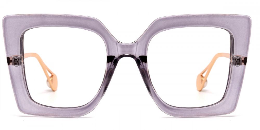Square Purple Frame