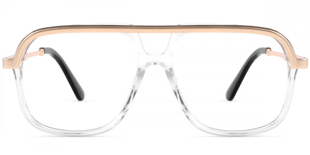 Bryan Aviator Clear Frame