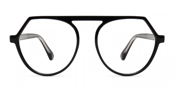 Matthew Geometric Black Frame