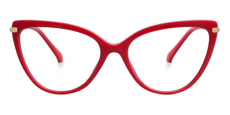 Sonia Cateye Red Frame