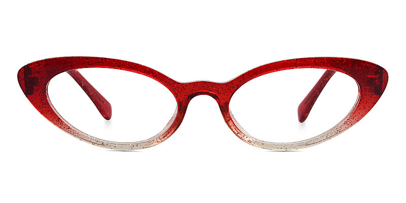 Debbie Cateye Red Frame