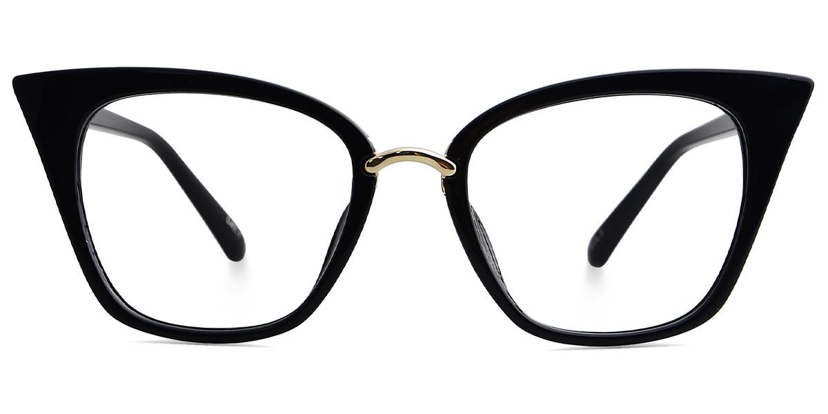 Achelous Cat Eye Black Frame