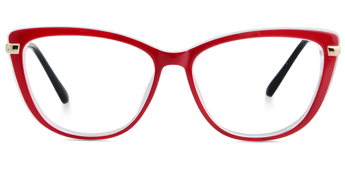 Kyle Cateye Red Frame