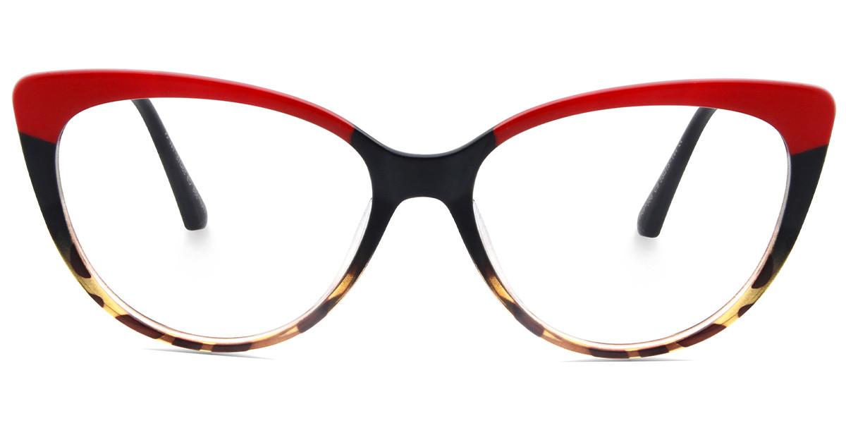 Mira Cateye Red Frame