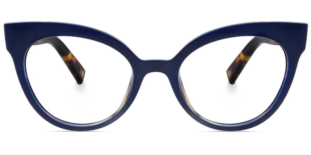 Trever Cateye Blue Frame