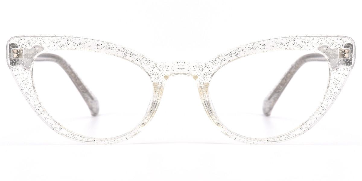Tami Cateye Crystal Frame