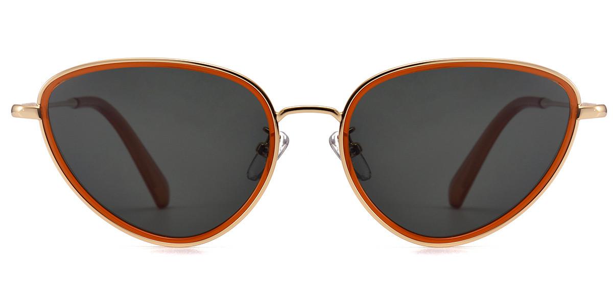 cateye yellow sunglasses