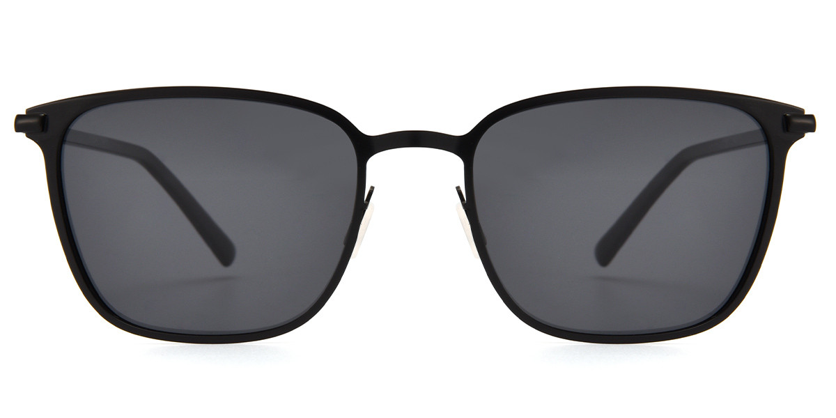 Wanda Square Black Sunglasses
