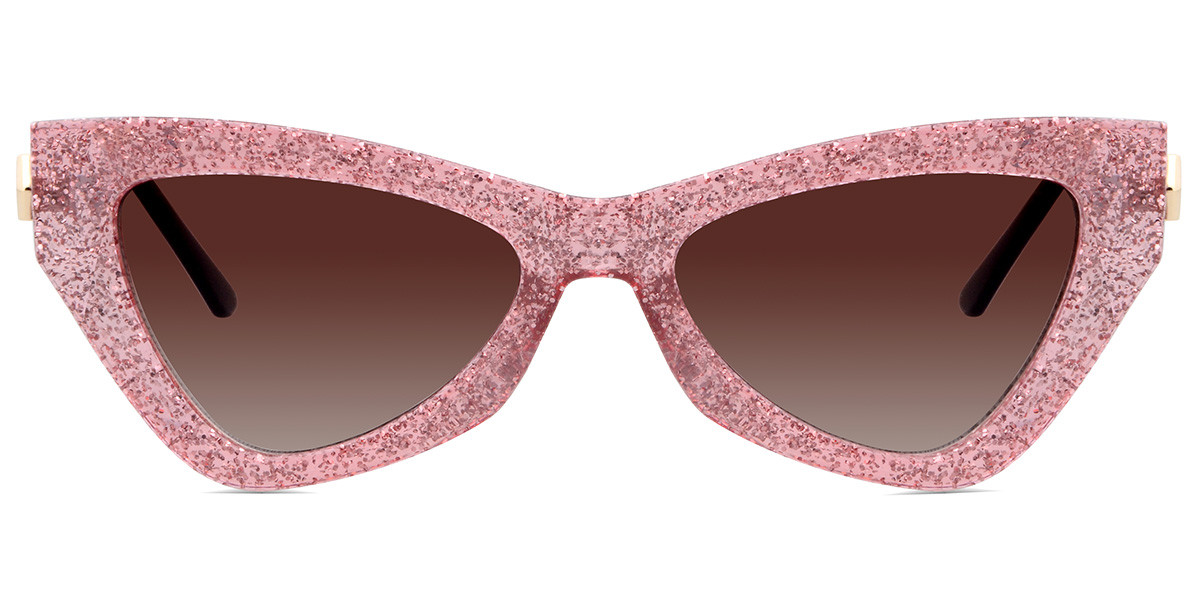 Sucette Cateye Pink Sunglasses