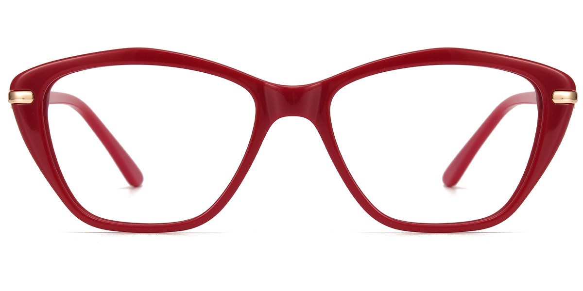 Emily Cateye Red Frame