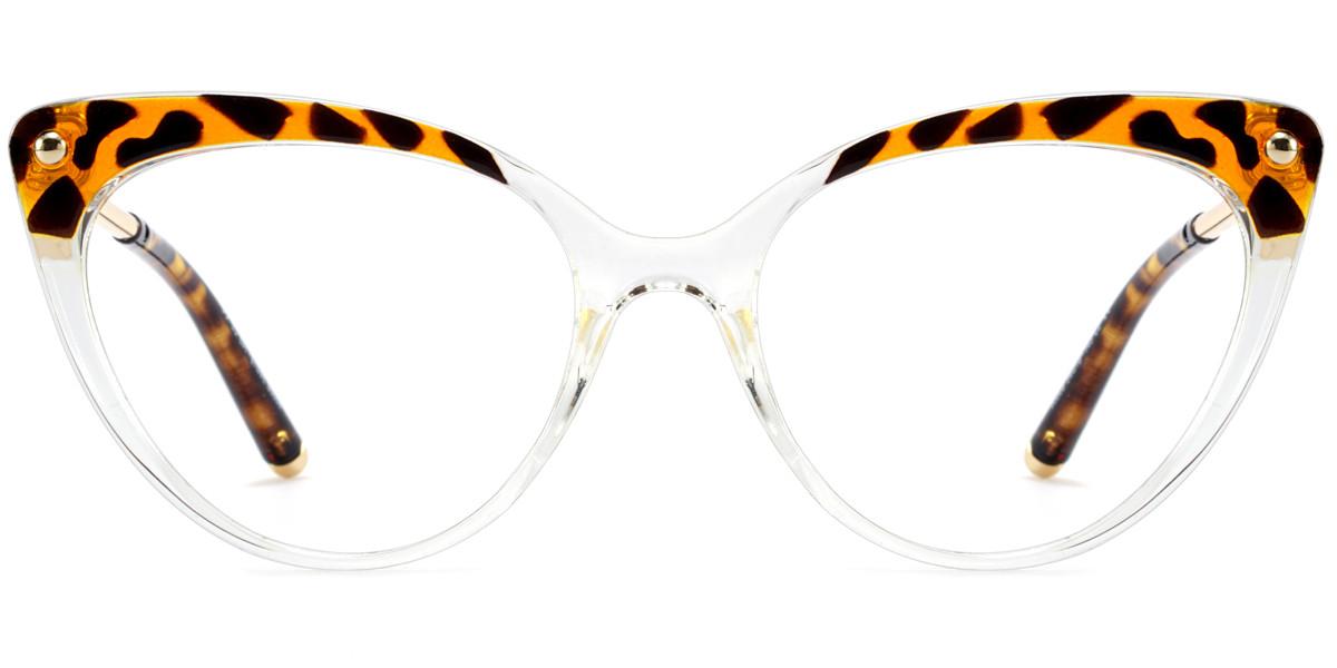 Cateye Clear Frame