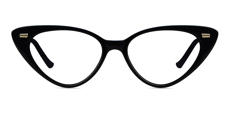 Leslie Cateye Black Frame