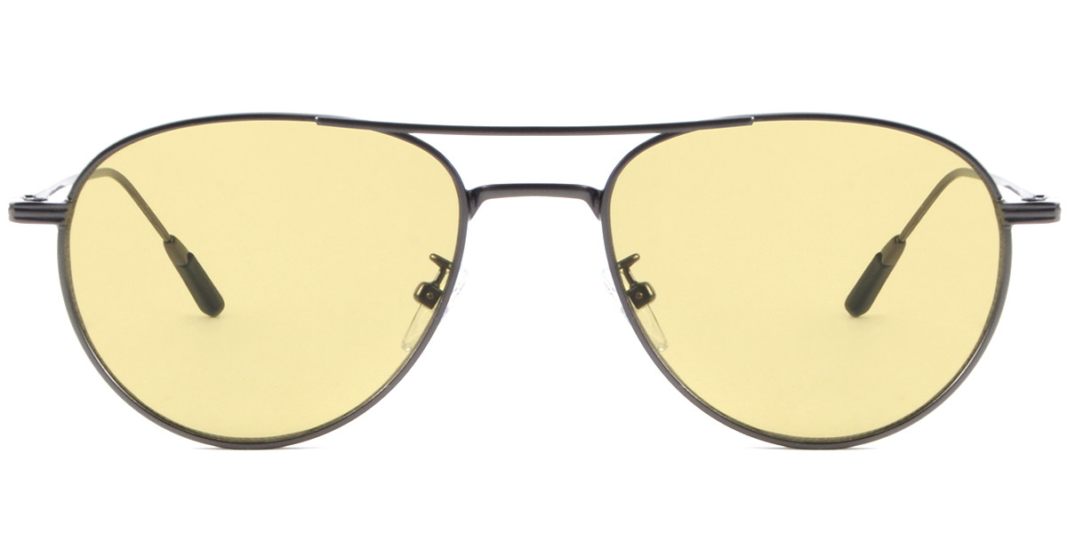Aviator Gray Sunglasses