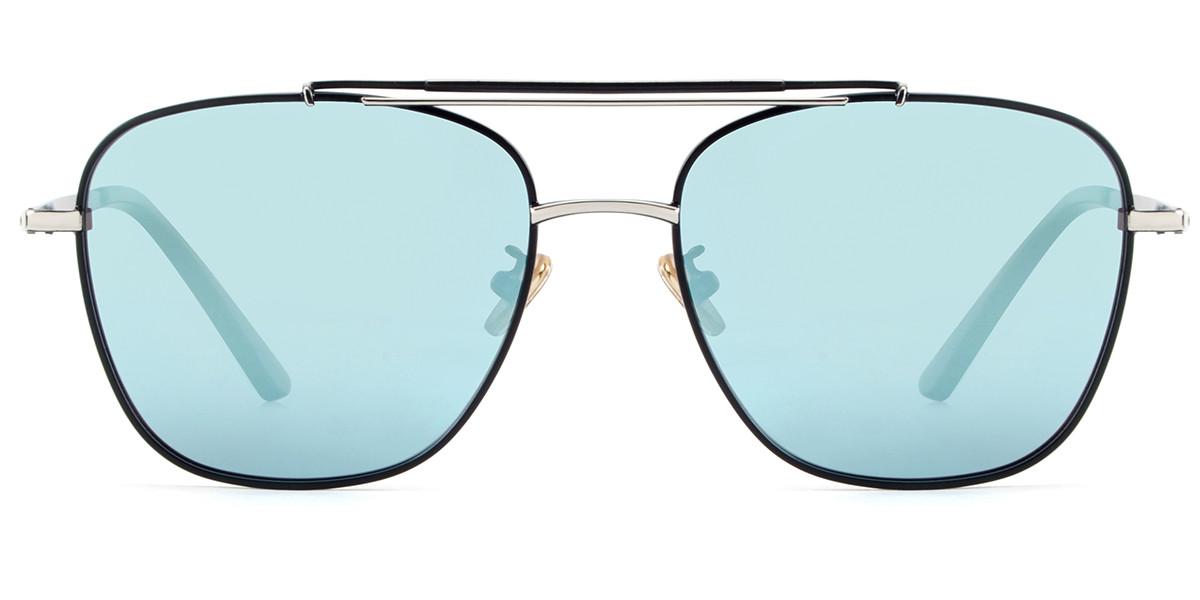 Notus Aviator Silver Sunglasses
