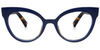 Cateye Blue Frame