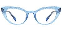 Tami Cateye Blue Frame