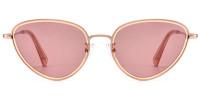 cateye pink sunglasses