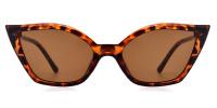 Cateye tortoise Sunglasses