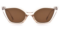 Cateye Crystal Sunglasses