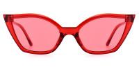 Cateye Red Sunglasses