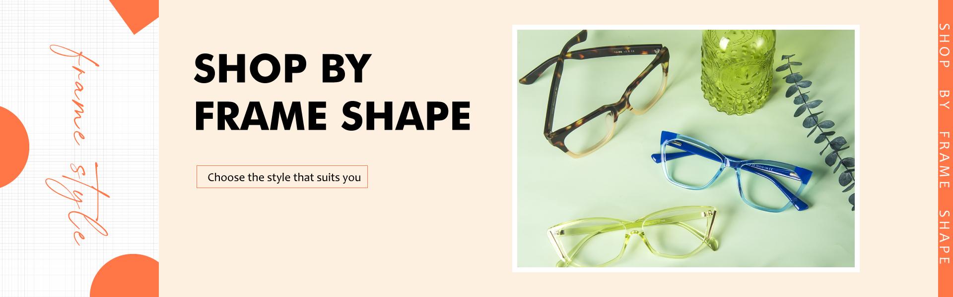 shop by frame shape